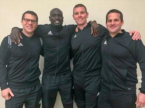WA MLS Referees attending the 2018 PRO Camp in CA